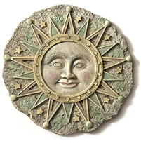 Spoontiques Sun Face Stepping Stone / Wall Plaque, 4986
