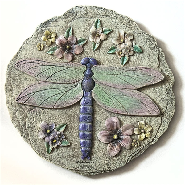 Spoontiques Dragonfly Stepping Stone Wall Plaque 5086