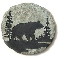 Spoontiques Bear Stepping Stone / Wall Plaque, 5105