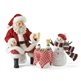 Santa and Snowman Eggnog Set - Possible Dreams Figurine, 4022360
