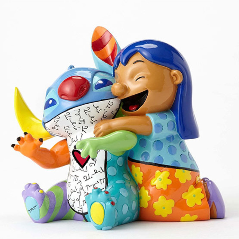 Figurines by Pop Artist Romero Britto.