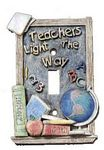 3D Teacher Single Light Switchplate Cover - 1724