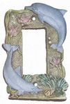 GFI/Decor Dolphins Lightswitch Cover - 1788