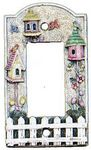 3D Birdhouses GFI/Decor Lightswitch Cover  - 1789