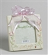Baby Girl Photo Frame with Pink Ribbon - Foundations, 4001701