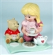 Girl Having Tee with Pooh - Disney and Me Figurine, 4004005