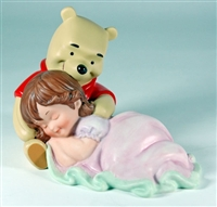 Little Girl with Winnie the Pooh - Disney And Me Figurine, 4004013