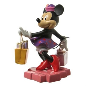 Minnie Mouse Shopping - Disney & Me Figurine, 4006557