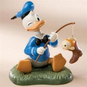 Donald Duck Fishing - Disney & Me Figurine, 4006559