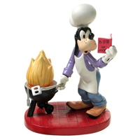 Goofy Cooking a Barbecue - Disney & Me Figurine, 4006560