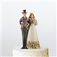 Heartwood Creek Bride And Groom Cake Topper Figurine by Jim Shore, 4007600