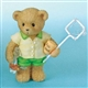 Boy Bear Catching Goldfish - Cherished Teddies Figurine, 4007740