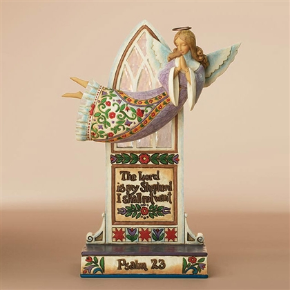Heartwood Creek Psalm 23 Angel Figurine by Jim Shore, 4007761