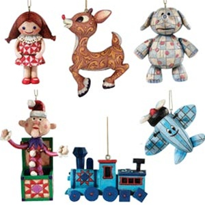 rudolph friends set of 6 christmas ornaments 4008832 - Rudolph And Friends Christmas Decorations
