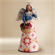 Jim Shore Angel with Basket of Flowers Figurine, 4008943, Flossie's Gifts & Collectibles