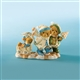 Bear Family Winter Stroll - Cherished Teddies Figurine, 4008960