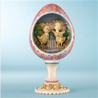 Heartwood Creek Easter Chicks in Egg Diorama Figurine by Jim Shore, 4009253