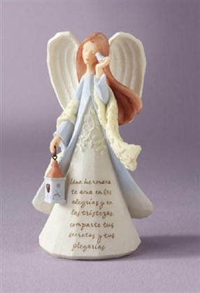 Sister Angel (Hispanic) - Foundations Figurine, 4009729