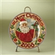 Heartwood Creek 2008-Dated Santa Claus Plate by Jim Shore, 4010895
