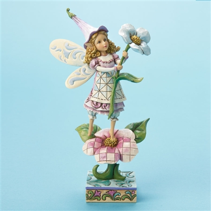 Heartwood Creek Fairy on Flower Figurine by Jim Shore, 4014977
