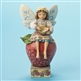Heartwood Creek Fairy Sitting on Apple Figurine by Jim Shore , 4014979