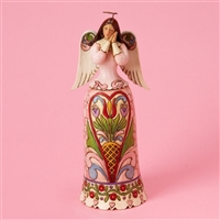 Heartwood Creek Hearts And Flowers Angel Figurine by Jim Shore, 4014991