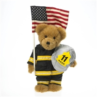 Boyds 10in Plush 9-11 Fireman Bear, 4025927