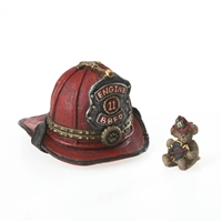 Boyds Fireman Helmet Treasure Box, 4026023