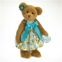 Boyds 14in Plush Bear in Dress 'Mother's Day' 4027308