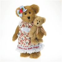 Boyds 10 inch Plush Mother Bear with Baby Bear 402732