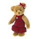 Boyds 8in Gold Plush Bear in Dress Molly 4028229
