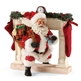 Possible Dreams Santa and Fireplace Figurine Set 4046494
