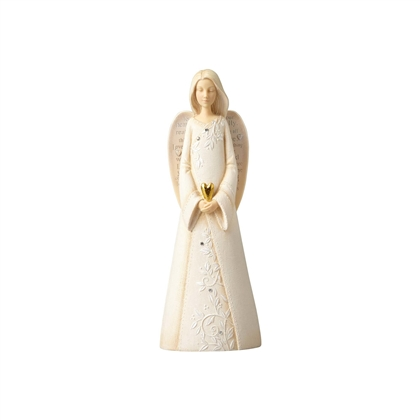 Foundations Angel with Heart Figurine 4055277