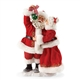Possible Dreams Santa 'Mistletoe Kisses' Figurine