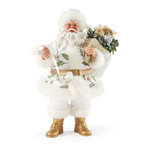 Possible Dreams 'The Holly and the Ivy' Santa Figurine