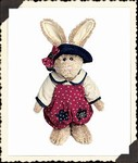 Boyds Plush Rabbit Emily Babbit 9150-18