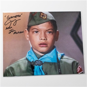 Carl Craig as Jim Morgan - Autographed 'Gamera vs. Viras' Photograph - October 2018, Mars, PA