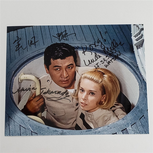Akira Takarada and Linda Miller Double Autographed 'King Kong Escapes' Photo - Fall 2018