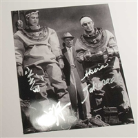 Akira Takarada as Ogata in Godzilla 1954 - Autographed 'Oxygen Destroyer' Photo, May 2015, Houston