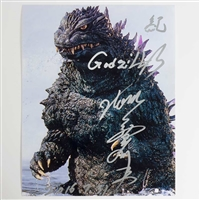 Tom Kitagawa as Godzilla  - Autographed 'Ocean Surfacing' Photo - July 2016, Louisville, KY