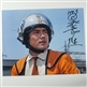 "Susumu Kurobe as Hiyata - Autographed ""Looking at Neronga"" Ultraman Photo - January 2016, Tokyo"