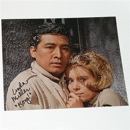 Linda Miller as Lt. Susan Watson in King Kong Escapes - Autographed 'Cell Freeze' Photo