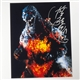 Kenpachiro Satsuma as Burning Godzilla  - Autographed Photo - March 2016, Cherry Hill, NJ