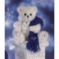 Bearington 'Harry Bearstein', 10in Plush Hanukkah Bear, 1567-N