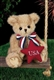 Bearington Peter Patriotic 10-Inch Plush Bear 161991