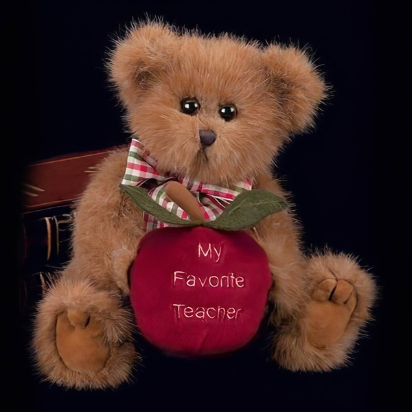 Bearington Beary Best Teacher 10-Inch Plush Bear 1719