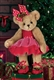 Bearington Clara Ballerina 14-Inch Plush Bear
