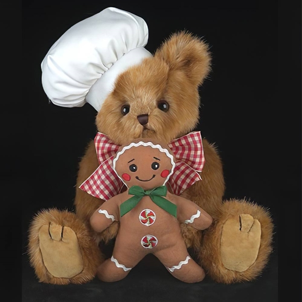 Bearington Ben Baking 10-Inch Plush Bear 173236