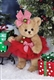 Bearington Plush 10 Inch Christmas Bear 173241