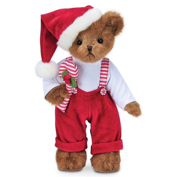 Bearington Christopher Cane 14 Inch Plush Bear 173245